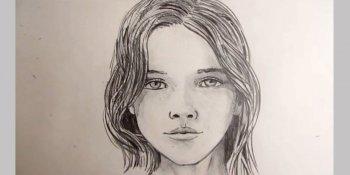 آموزش طراحی چهره زن