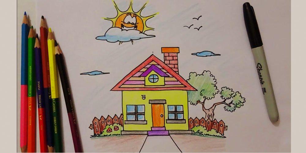 نقاشی خانه قسمت اول