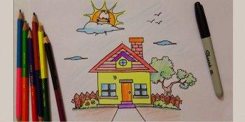 نقاشی خانه قسمت دوم