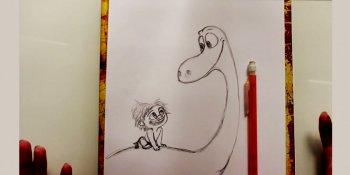 کاراکترهای انیمیشن دایناسور خوب