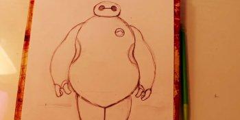 طراحی شخصیت انیمیشنی بیمکس