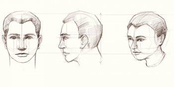 طراحی ذهنی سر انسان