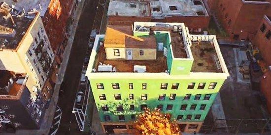 مراحل آسان برای نقاشی یک منظره شهری