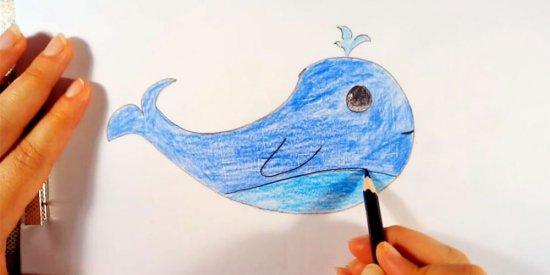 نقاشی نهنگ