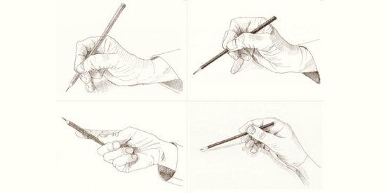 درس دوم آموزش طراحی مقدماتی : نحوه درست گرفتن مداد و نشستن