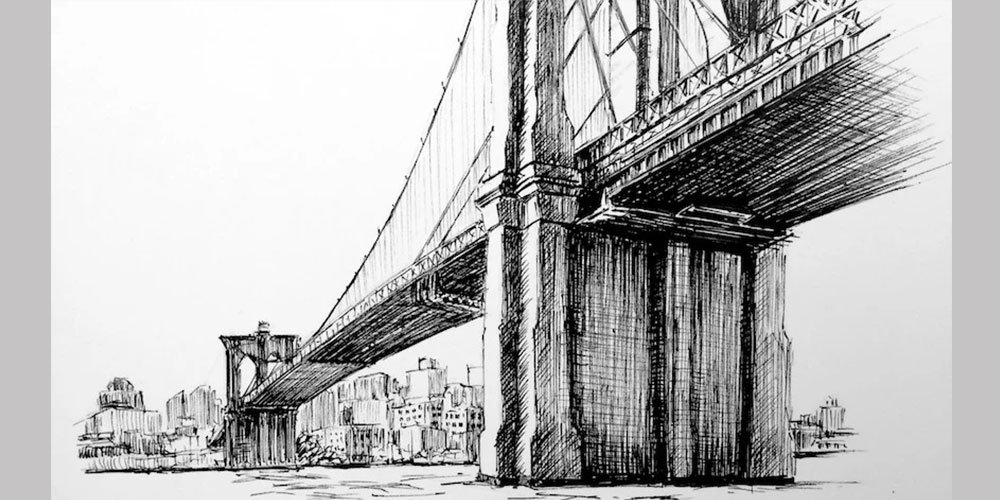 آموزش طراحی پل بروکلین با راپید