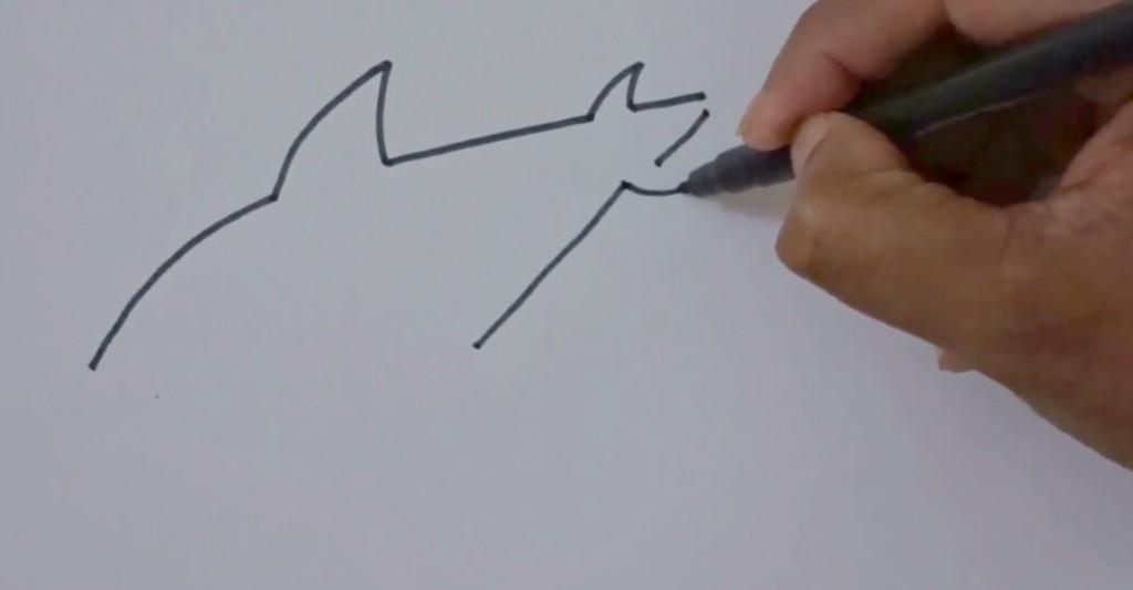 نقاشی کوسه
