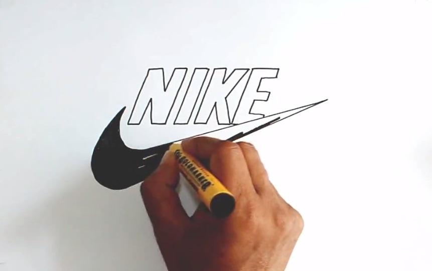 آموزش طراحی لوگو نایک