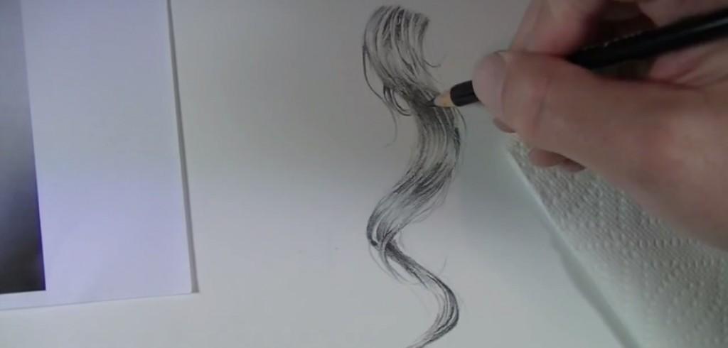 آموزش نقاشی مو