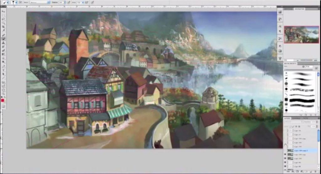 طراحی پس زمینه برای انیمیشن