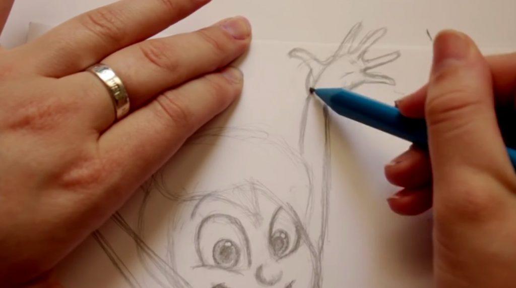 طراحی کاراکتر JOY انیمیشن inside