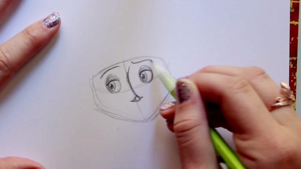 آموزش طراحی شخصیت کورالین