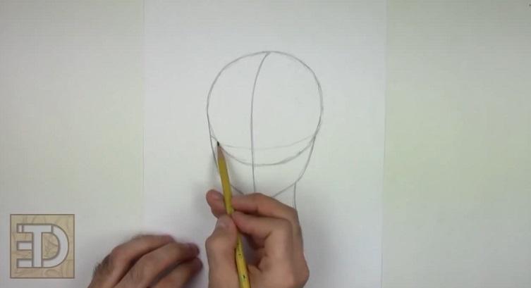 آموزش نقاشی چهره با مداد برای کودکان